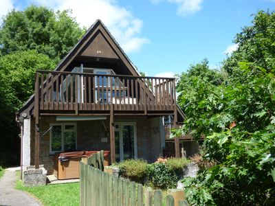 Photo for 59 VALLEY LODGE, pet friendly, with pool in Gunnislake, Ref 5198