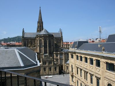 Photo for Apartment with views of the cathedral, terrace, wifi, parking included