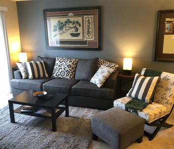 Modern 1 Bedroom Condo. Everything you need!