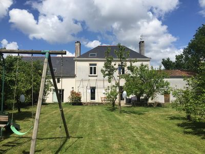 Photo for Large family home located in a park 10 minutes from downtown Nantes