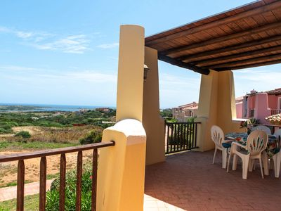 Photo for Mediterranean and with sea view - Apartment Sissi