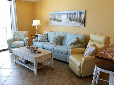 Photo for DIRECT GULF FRIONT UNIT, INCREDIBLE VIEWS OF THE GULF AND PERDIDO PASS, UPDATED DECOR, FAMILY AMENITIES