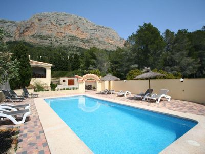 Photo for Javea Villa, Sleeps 8 with Pool and Air Con