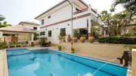 A lovely, spacious, modern 3 bedroom / 4 bathroom pool villa with all the amenities you would need.