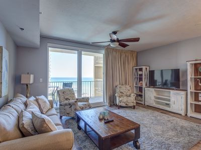 Photo for 2016 Designers Personal Owned Gulf Front Condo- Sleeps 8