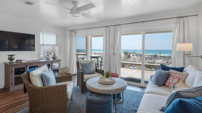 Photo for Unobstructed views and access to the sparkling waters of the Gulf of Mexico!