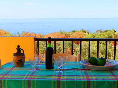 Photo for Villa Liliana with Sea View and Aeolian Islands