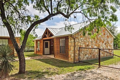 Experience the best of Texas from this fantastic Lakehills vacation rental cabin