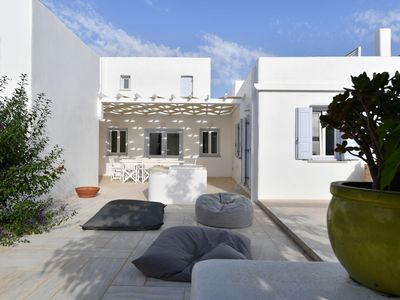 Photo for Villa PORFYRA on Ambelas Beach, Paros