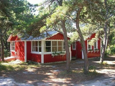 Photo for Pleasant Forest Shores #1 S. Chatham: Classic Swedish ''Stuga'' style near beach