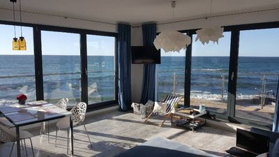 Photo for Special apartment with beautiful sea view