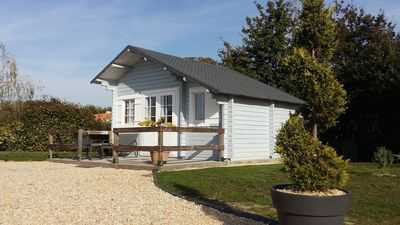 Photo for Comfortable chalet - 24 km from the beaches The gîtes of Fréd and Line