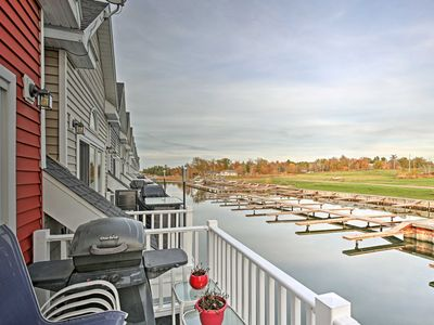 Photo for NEW! Waterfront 2BR+Loft Alexandria Bay Townhome!