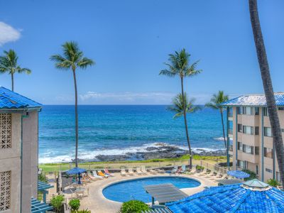 Photo for Kona Reef Retreat! Ocean views as far as the eye can see!