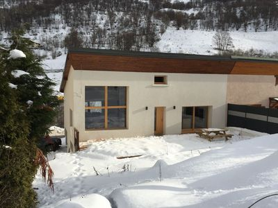 Photo for Chalet 10 people 145 m2 completely renovated at the foot of the ski lifts