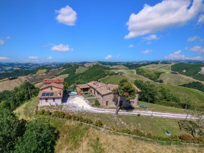 Photo for Borgo with mini pool in the Apennines, unspoiled nature, beautiful views