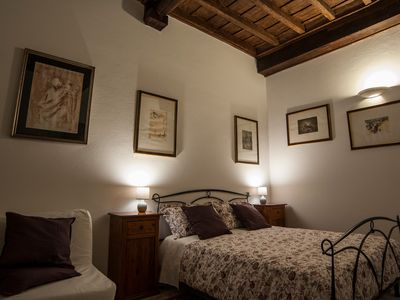Photo for RomanticRome apartment, between St. Peter's, Piazza Navona and Campo de Fiori