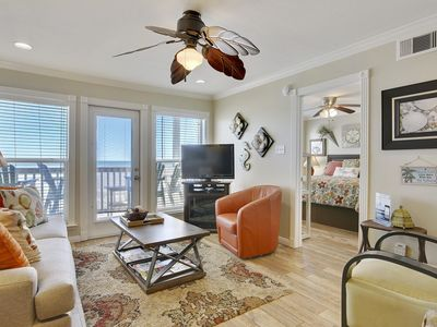 Photo for Beachfront Rejunenation- Washer/Dryer- Recliner- Free Wi-Fi-3rd floor 1309