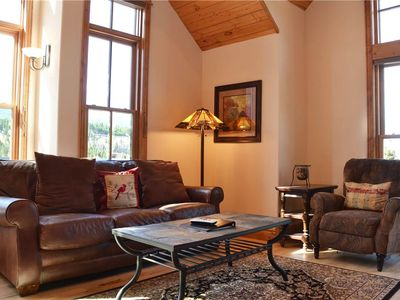 Photo for Upstairs at Blue Front: 1 BR / 1 BA condo in Breckenridge, Sleeps 4
