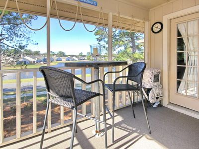 Photo for Quiet condo with pool and hot tub ready for a beach, golf or fishing getaway.