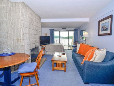 Photo for 203A- Efficiency-Style Lakefront Condominium