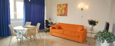 Photo for One bedroom Apartment, sleeps 4 in Rome with Air Con and WiFi