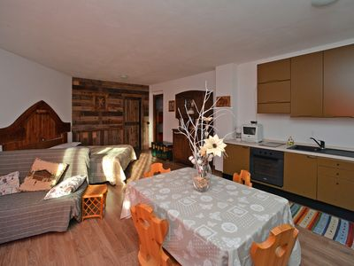 Photo for Rustic mountain style apartment - Close to the Spa