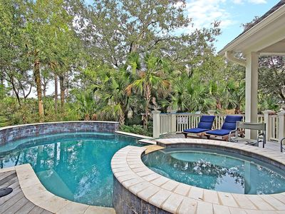 Photo for POPULAR Kiawah Home! Private Pool, Hot Tub And Elevator!