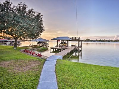 Photo for NEW-Waterfront Lake Placid Cottage w/Pvt Boat Dock