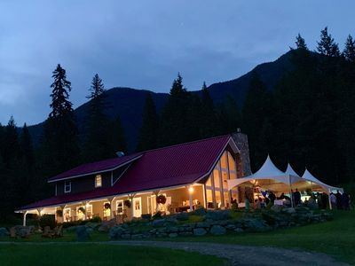 Photo for Entire Guest Lodge & 8 Boutique Cabins on 80 Acres 15 min from Sun Peaks Resort