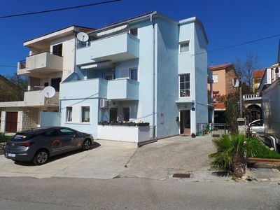 Photo for Holiday apartment with terrace and sea view 300 m from the sea