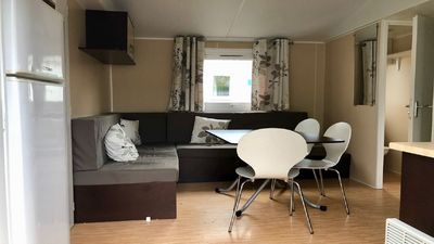 Photo for Mobile home 3ch, covered terrace, per night, weekend, week
