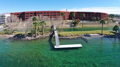 Photo for LUXURY RIVERFRONT CONDO 005, LAUGHLIN CASINO VIEWS, 2 KINGS, 2 TWINS, 2 BATH