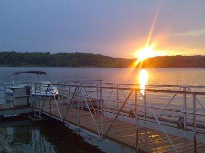 Photo for Awesome Lakefront Home With Panoramic Views And A Private Boat Dock