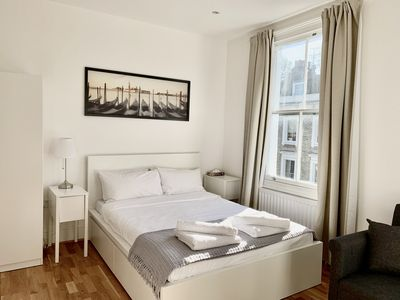 Photo for Bright Large Double Studio in Kensington & Chelsea by Mayfair stay