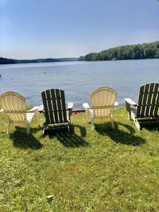 Photo for Renovated South Facing Beach Waterfront Property on Lake of Bays in Muskoka