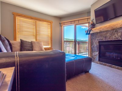 Photo for Steps away from Super Bee Lift, 3 outdoor hot tubs, wifi, underground parking