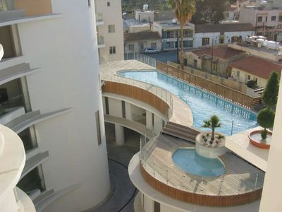 Photo for 3b Pool Penthouse private hot tub - Larnaca Centre