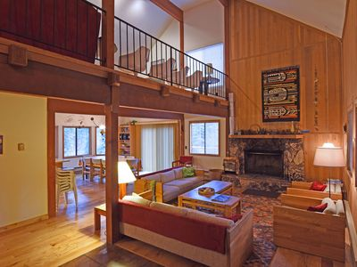 Photo for Heidi's Cabin - Spacious House w/ Private Deck, 15 Min to Northstar, Game Room