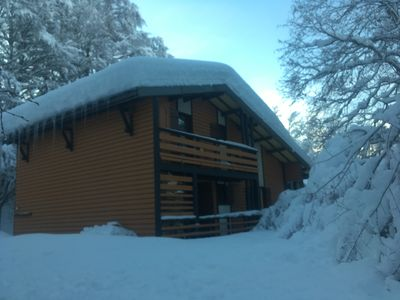 Photo for Chalet 12 persons any comfort, close center station