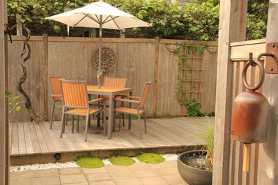 Exclusive Patio/Deck with Fountain