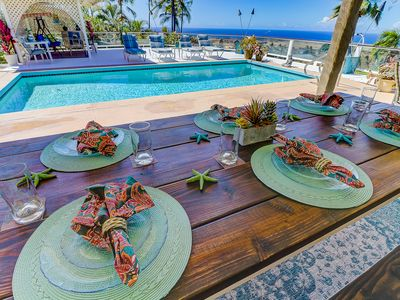 Photo for ★ HUALALAI VILLA ★ '180 Degree View of W-O-W' ★ PRIVATE POOL !!! ★