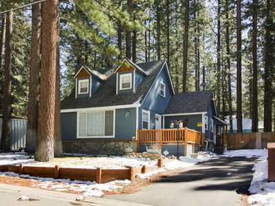 Photo for 2462 Pinter: 3 BR / 1 BA cottage in South Lake Tahoe, Sleeps 7