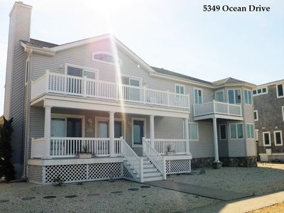Photo for BEAUTIFUL  8BDRM, 4.5BATH - AMAZING BAY VIEWS AND JUST OVER A BLOCK TO BEACH!
