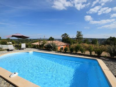 Photo for Beautiful Villa in Joyeuse with Private Pool