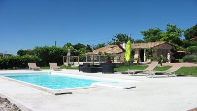 Photo for Enchanting Gite with Shared Pool