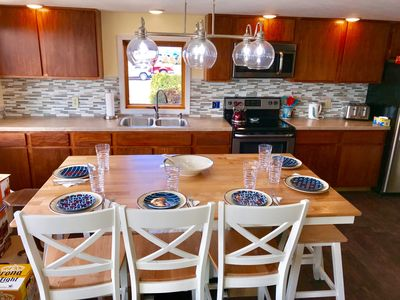 Modern kitchen, why eat out 3 meals a day , save $$$