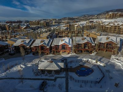 Photo for Beautiful 5 Bedroom Townhome near the Gondola