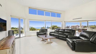 Photo for PENTHOUSE, PANORAMIC OCEAN VIEWS, WALK TO BEACH