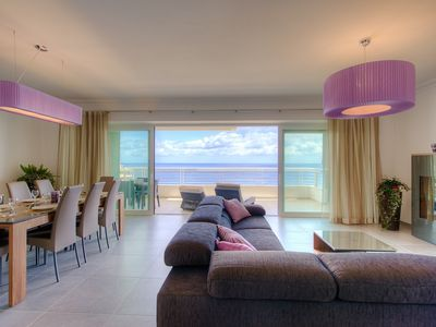 Photo for Seafront Luxury Apartment In Fort Cambridge, Sliema